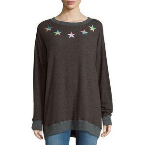 Wildfox Rainbow Star Roadtrip Sweater
